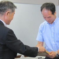 2016/08/23 高知県次世代育成支援企業第65回認証書交付式を開催しました