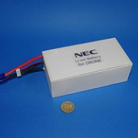 2016/09/26 NECエナジーデバイス、業務用ドローンに最適なリチウムイオン二次電池を開発[NECエナジーデバイス]