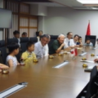 2016/07/28 上海子ども将棋使節団が知事を訪問しました