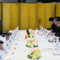 2016/05/28 安倍総理はG7伊勢志摩サミットアウトリーチ招待国と首脳会談等を行いました