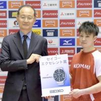 2016/05/06 第55回NHK杯体操 セイコー エクセレント賞を贈呈